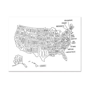Prints more made in kansas city easy tiger usa map print gumiabroncs Image collections