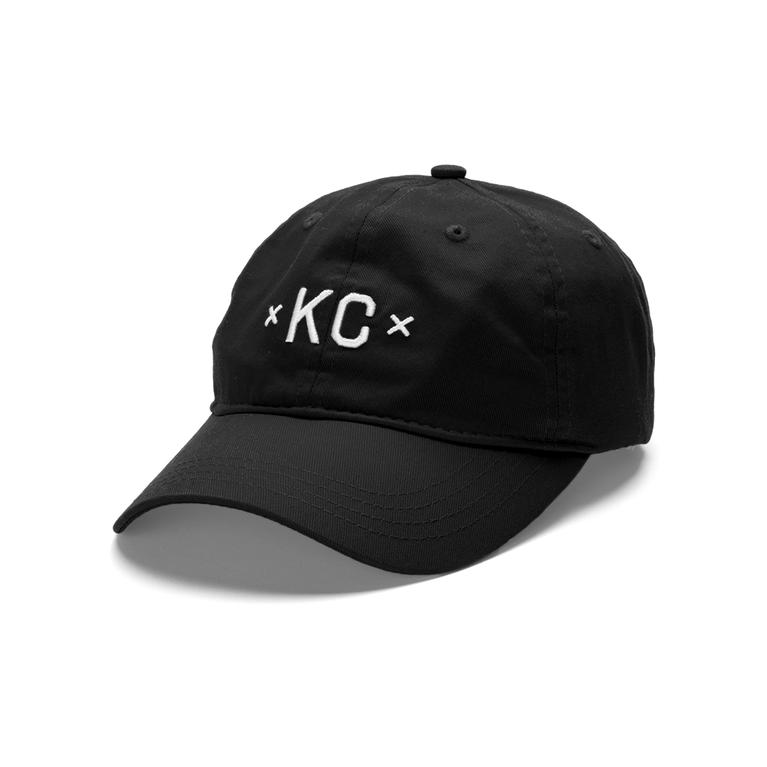 8c4eb63faef Made Urban Apparel KC Dad Hat - Black — Made in Kansas City