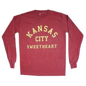 d31187691 1KC Kansas City Sweetheart Longsleeve Tee