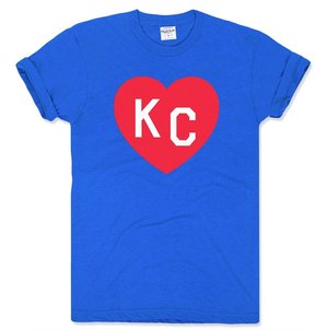 65f402ef29c Charlie Hustle KC Heart Tee - Crimson and Blue  CharlieHustle KUColors Heart.jpg