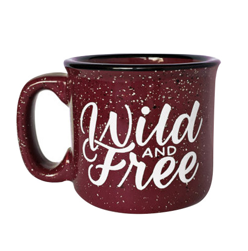 Simply Gifted:  Mug gift roundup featuring this mug by Wild and Free Designs. Easy gift idea for the coffee or tea lover in your life.