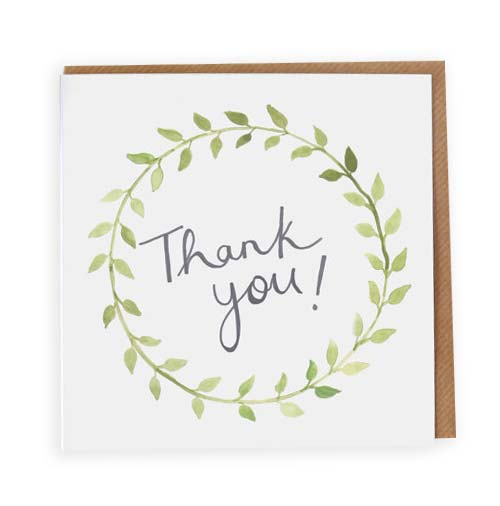 Simply Gifted:  Thank you card roundup featuring this card by Jade Fisher.