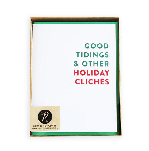 Simply Gifted: Holiday Boxed Set card roundup featuring this card by Rhubarb Paper Co.