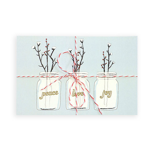 Simply Gifted: Holiday Boxed Set card roundup featuring this card by Hen Pen Paper Co.