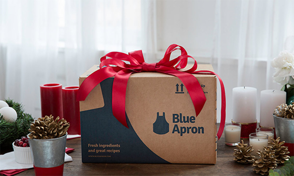 Simply Gifted:  Blue Apron Subscription.