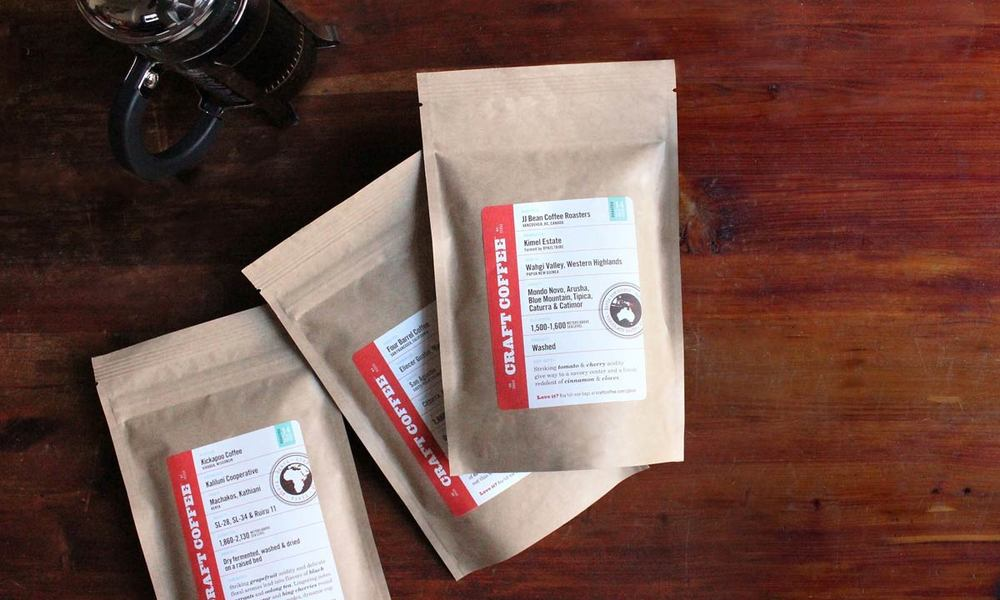 Simply Gifted:  Craft Coffee Subscription Box.