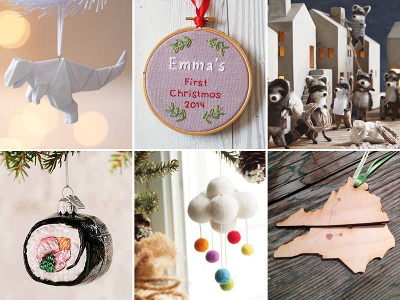 Simply Gifted Top 5 Posts of 2015:  No. 5 Ornament Roundup
