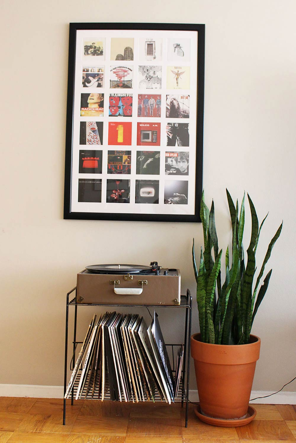 Simply Gifted Top 5 Posts of 2015:  No. 3 CD Cover Wall Art