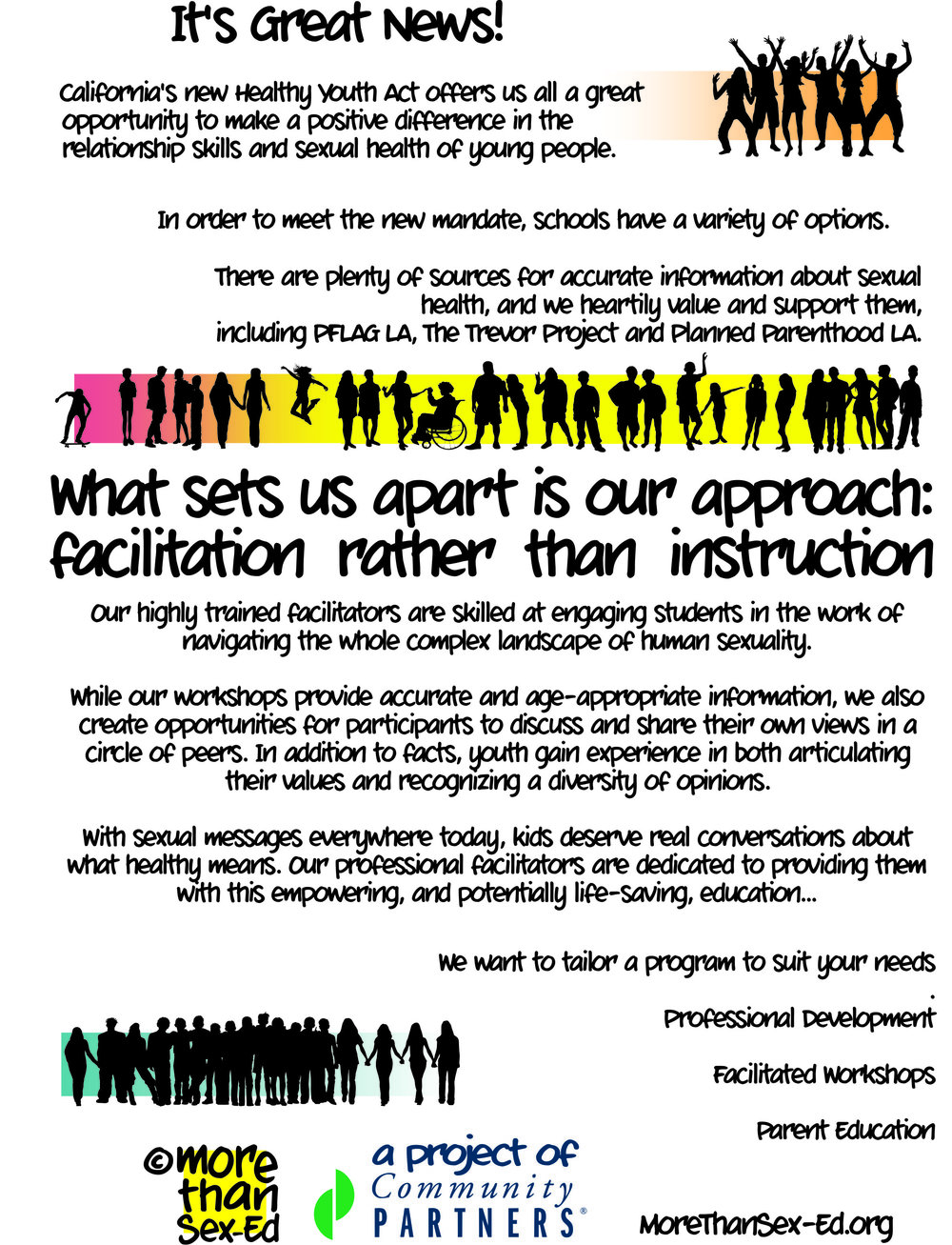 facilitation rather than instruction