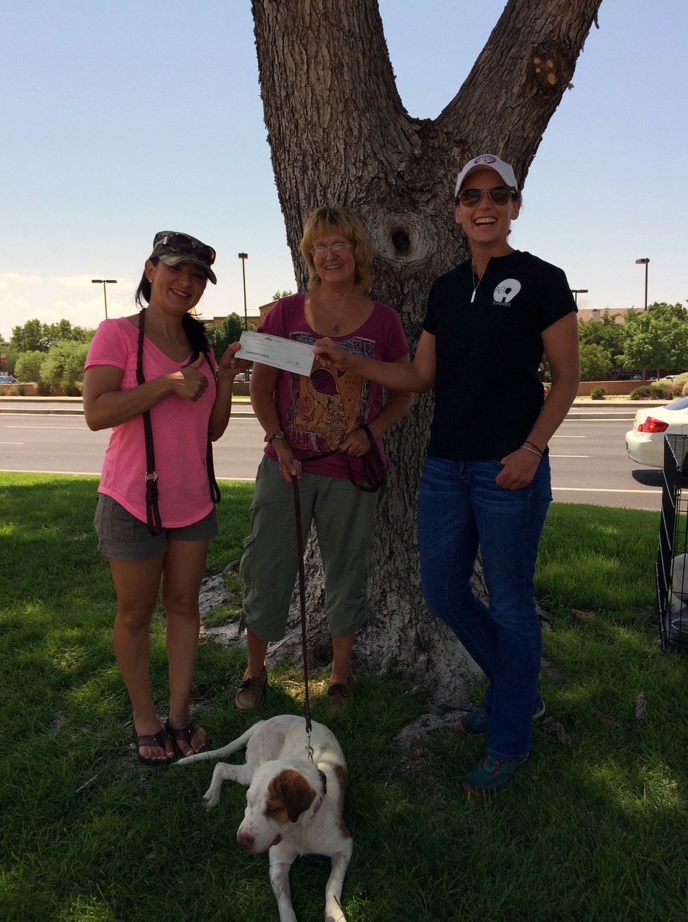 PACA receives our July 2014 grant.