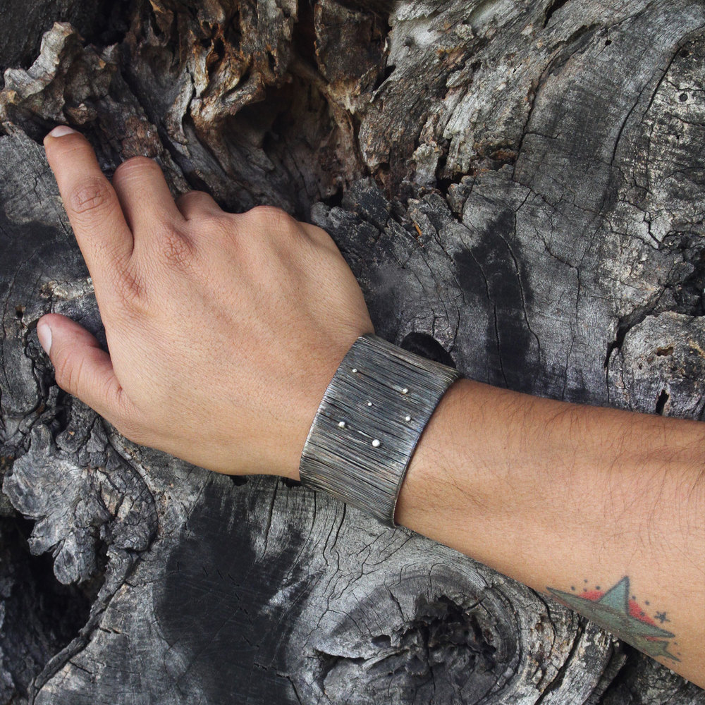 fili d'alga nera bracelet –