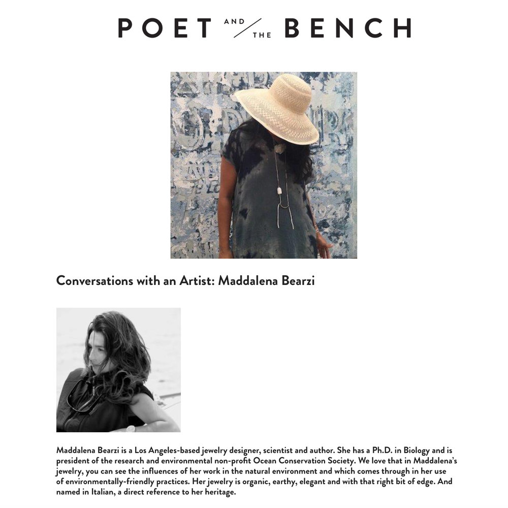 Poet and the Bench