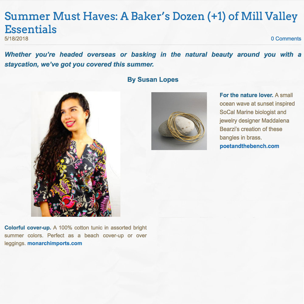 Enjoy Mill Valley Magazine