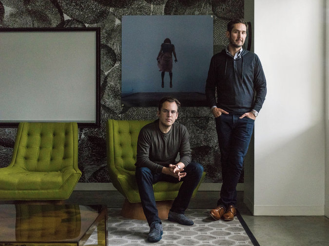 Instagram co-founders, dude & other techy dude