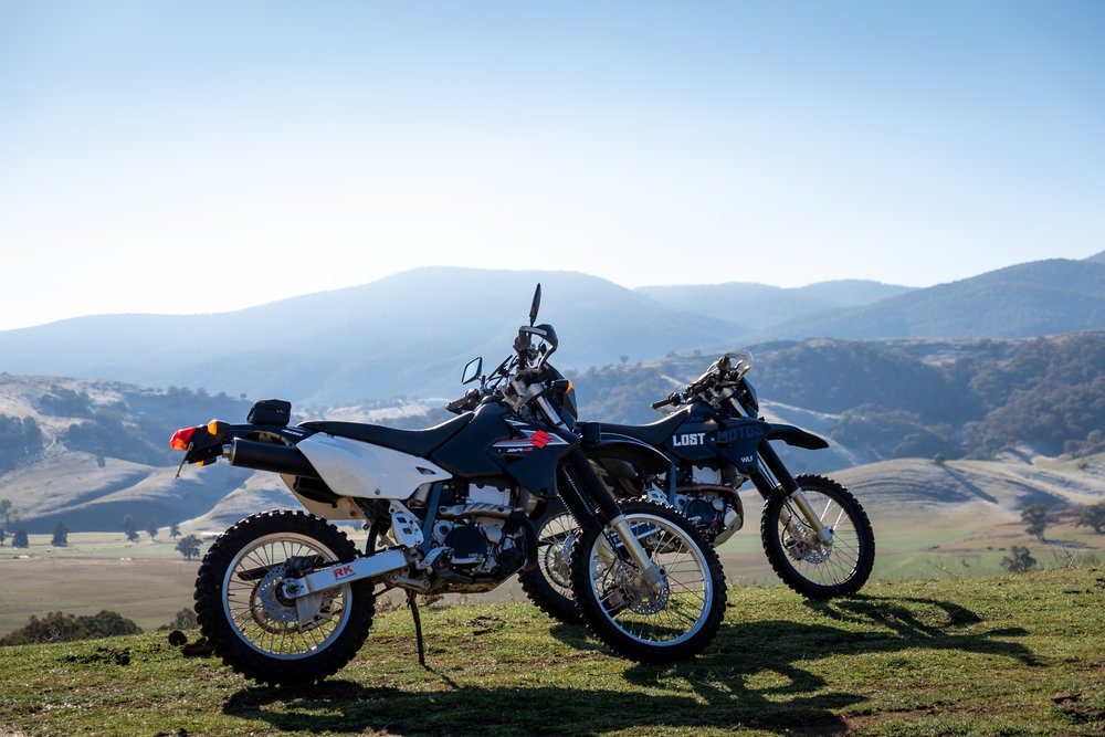 Go for a RIDE on your motorcycle and have a break from your thoughts for a moment. -