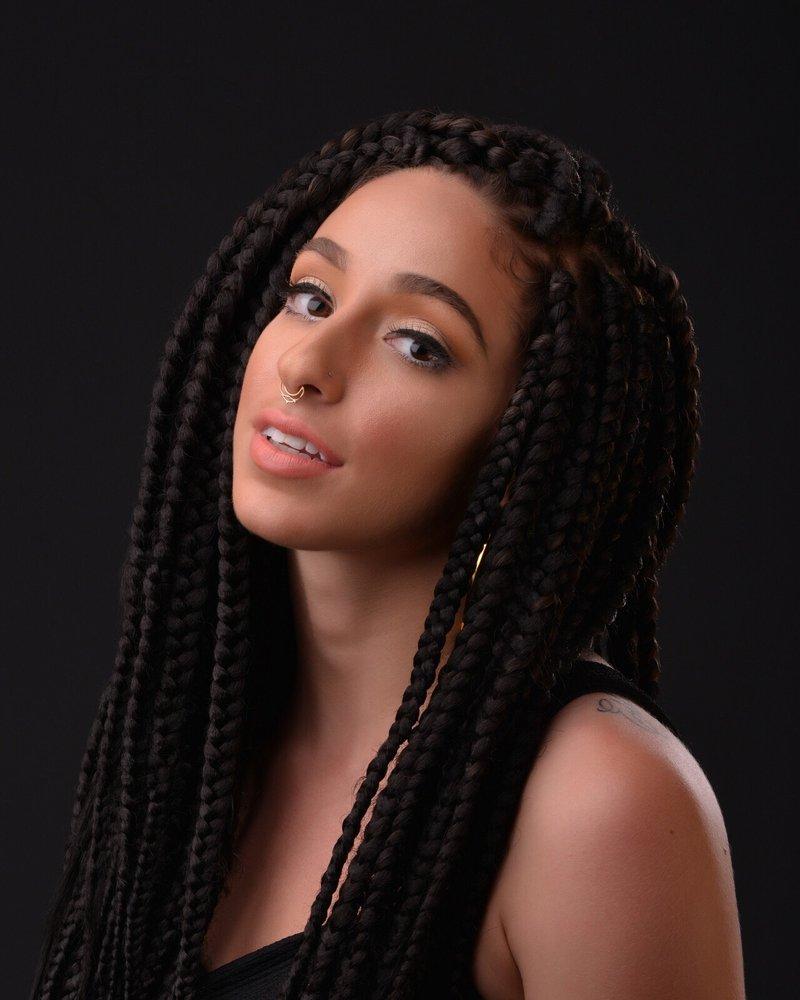 Hair: The Braid Bar (Rika H.)  Makeup: B. Rae Daul