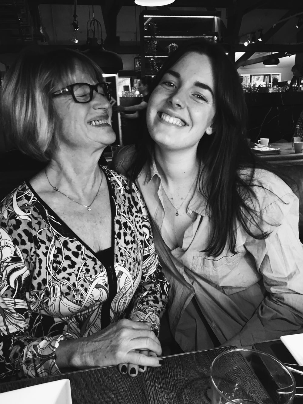 Me and my grandma at Fotografiska in October.