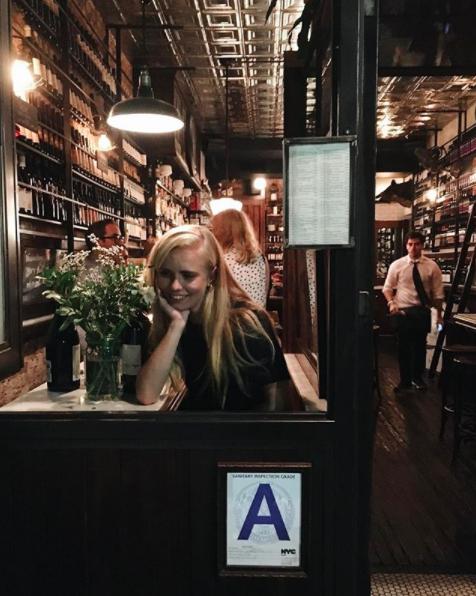 Emma at Have & Meyer in June 2016.