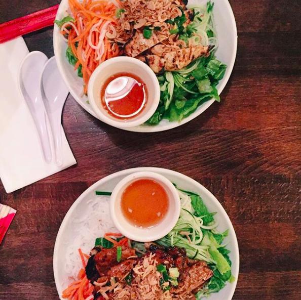 Saigon Shack dinner.