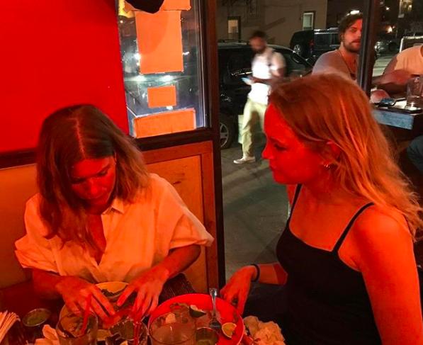 Nicole and Matilda at La Superior.