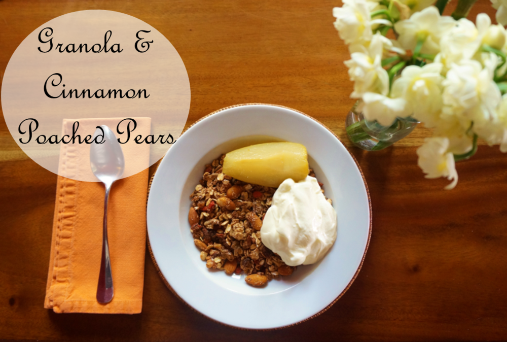 Happy Healthy Souls - Granola & Poached Pears