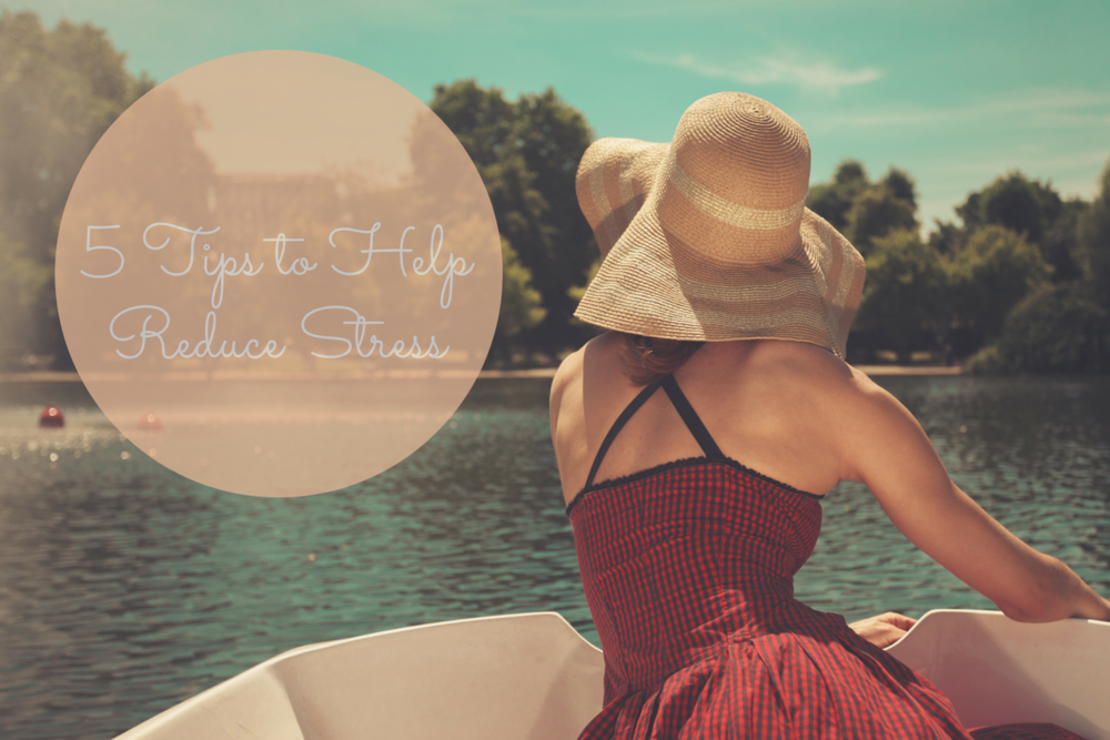 Happy Healthy Souls - 5 Tips to Help Reduce Stress