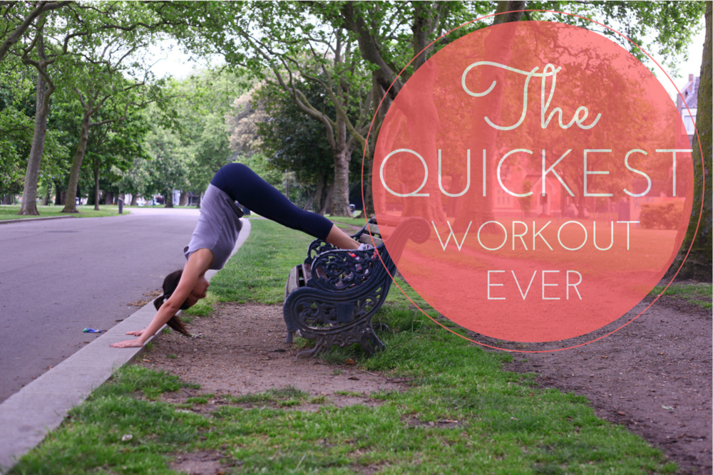 Happy Healthy Souls - The quickest workout ever
