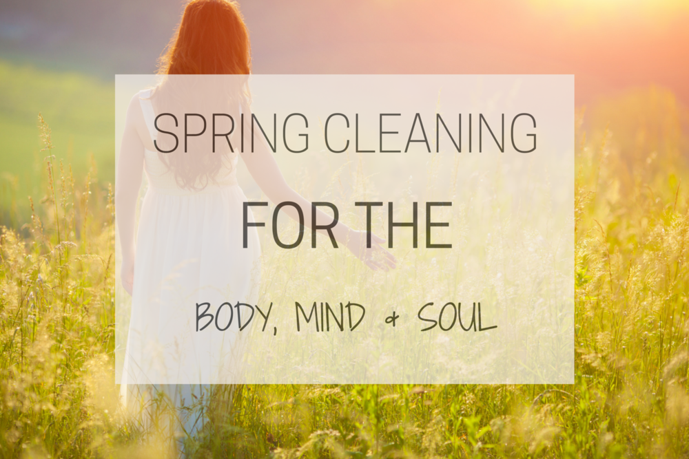 Happy Healthy Souls - Spring Cleaning for the Body, Mind and Soul