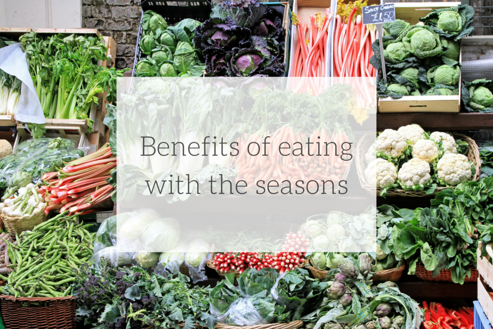 Happy Healthy Souls - Benefits of Eating with the seasons