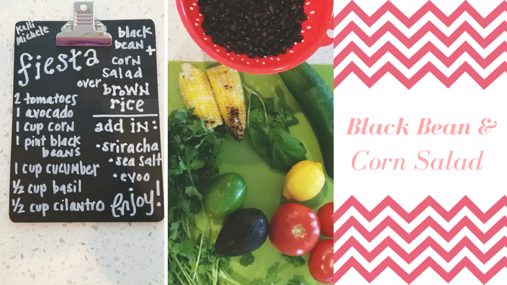 Happy Healthy Souls - Black Bean & Corn Salad