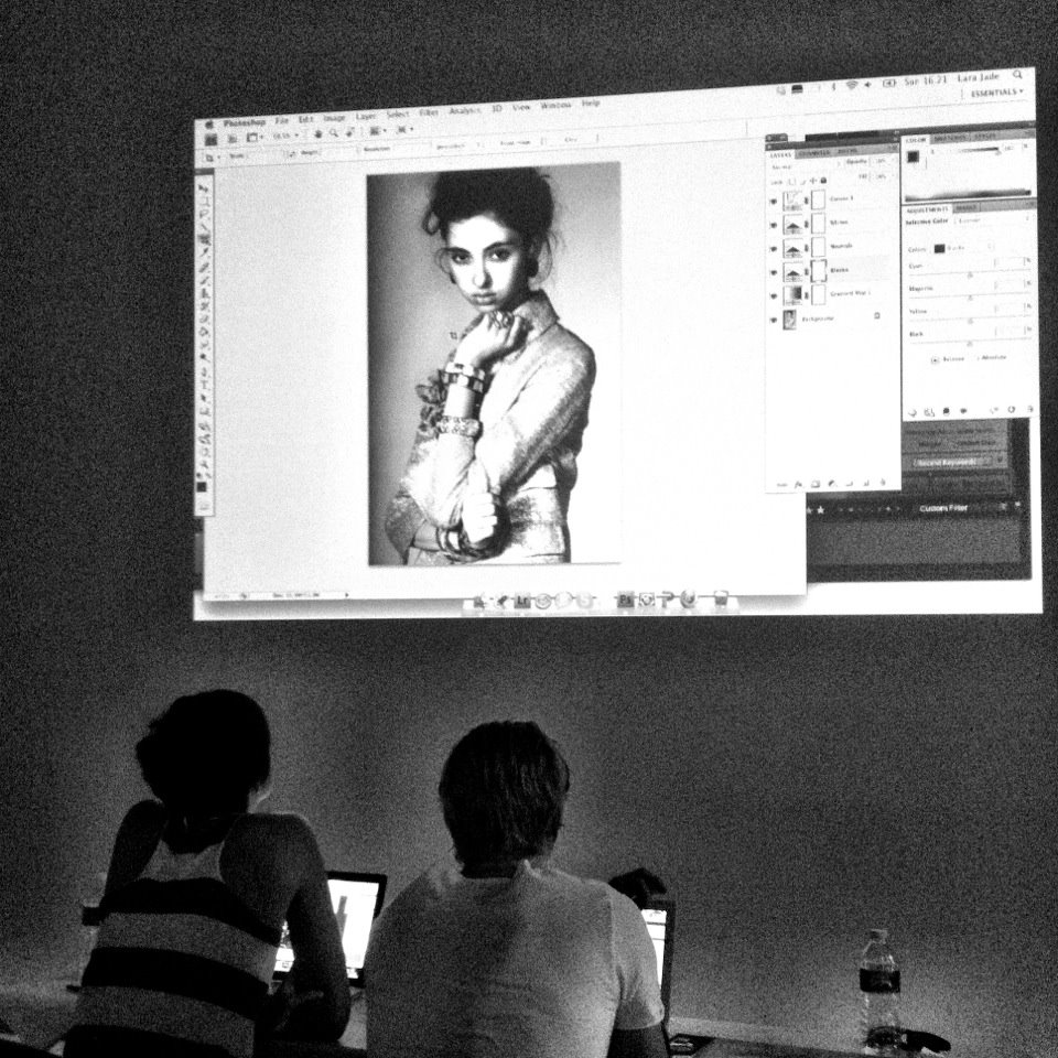 BTS of: NYC Workshop 2012