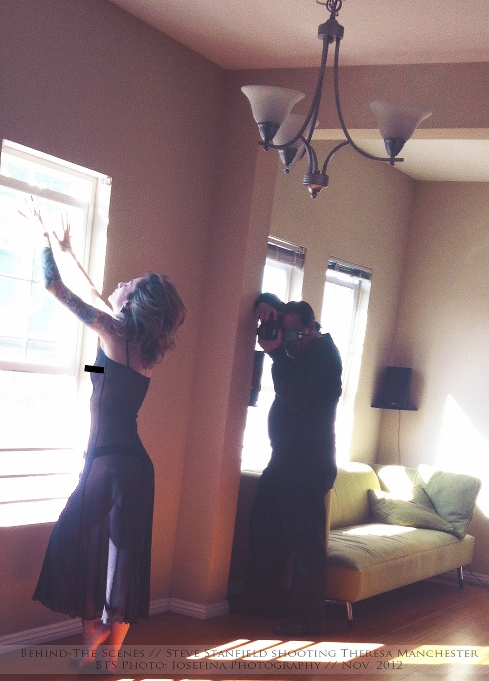 BTS of: Magazine Shoot 2012
