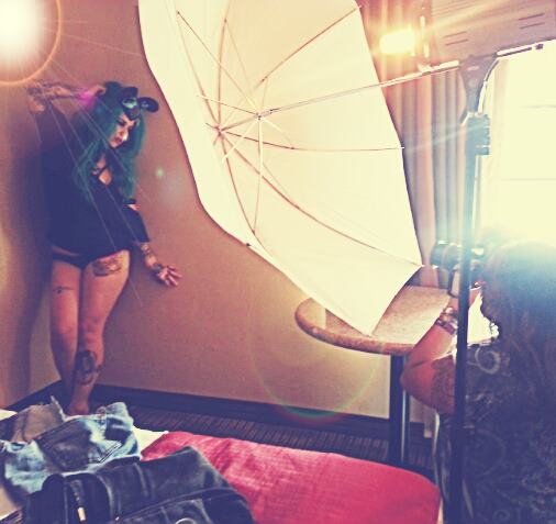 BTS of: Summer Shoot 2012