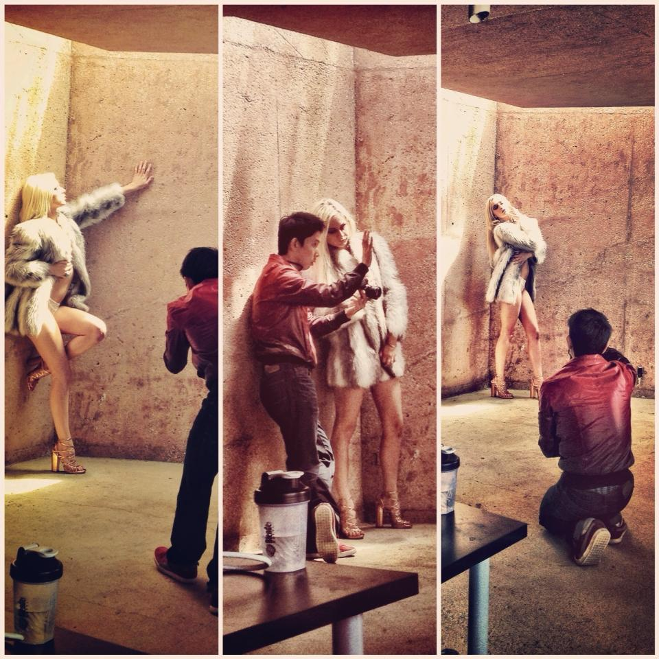 BTS of: LUCIMA's Workshop 2013