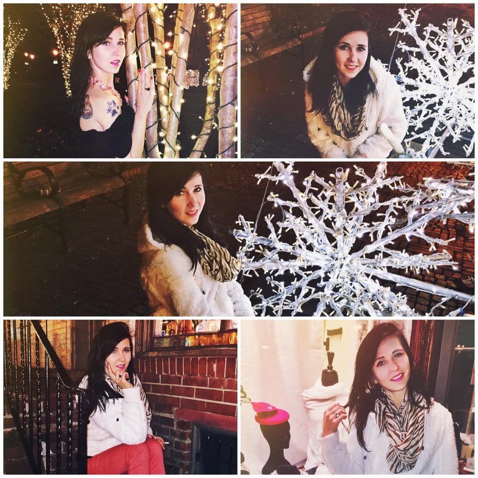 BTS of: Marina's Christmas Shoot 2014
