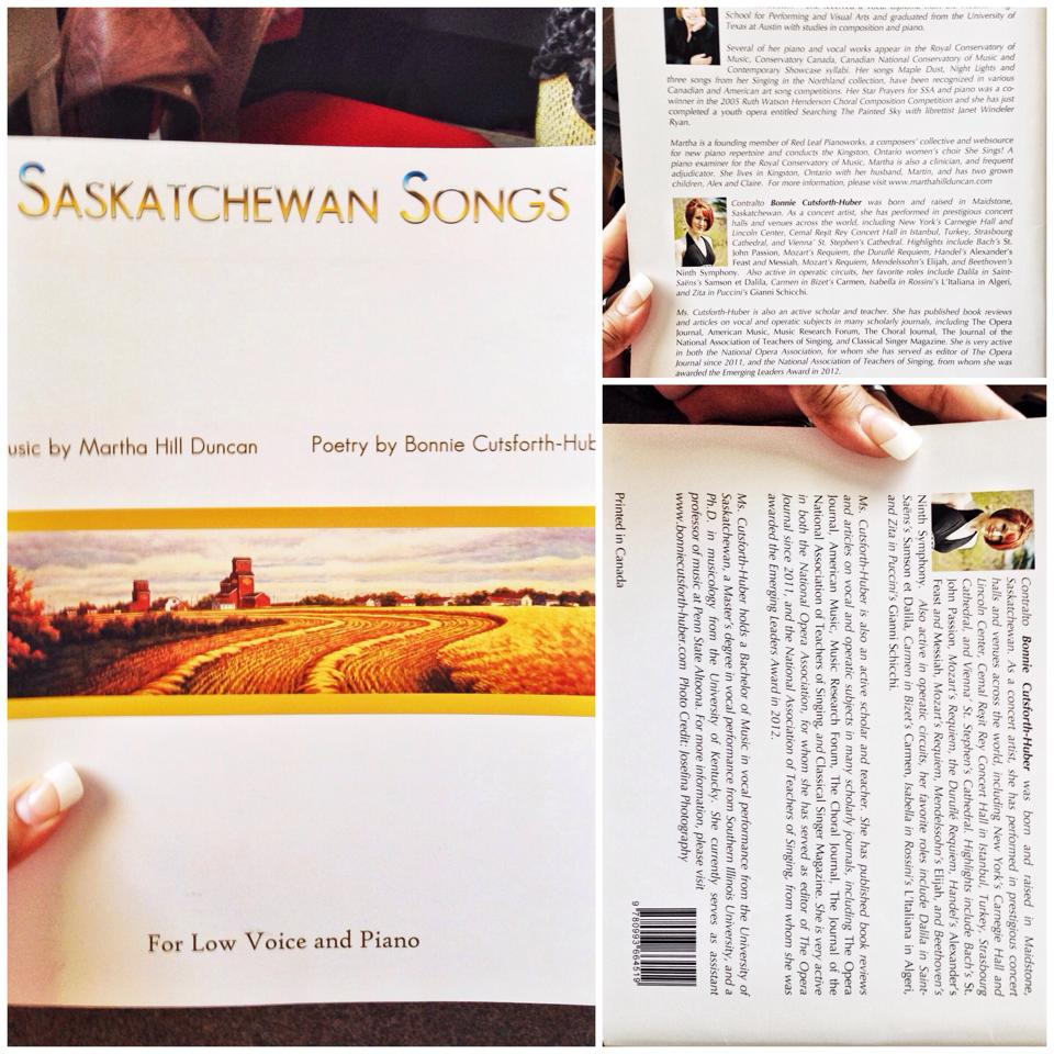 Saskatchewan Songs 2014