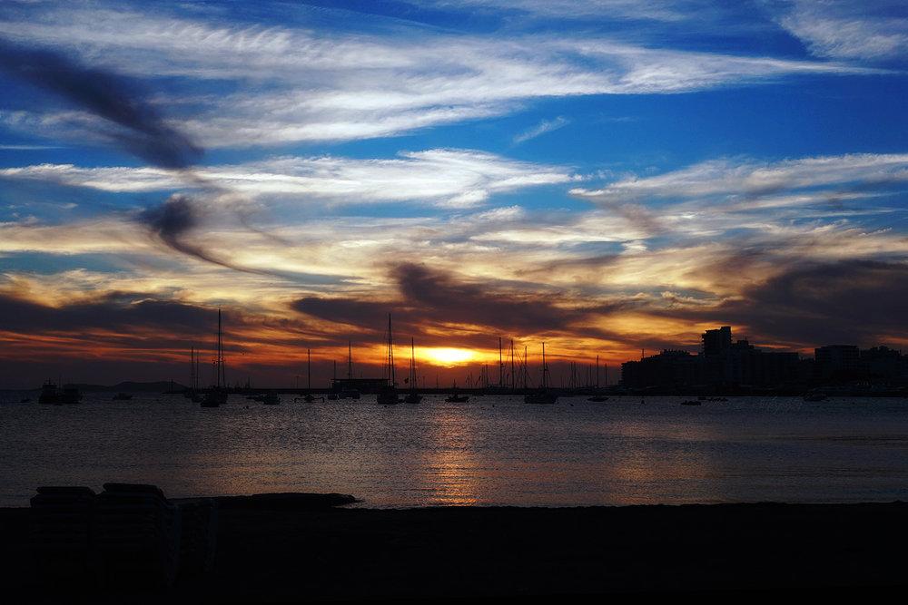 inner harbour sun