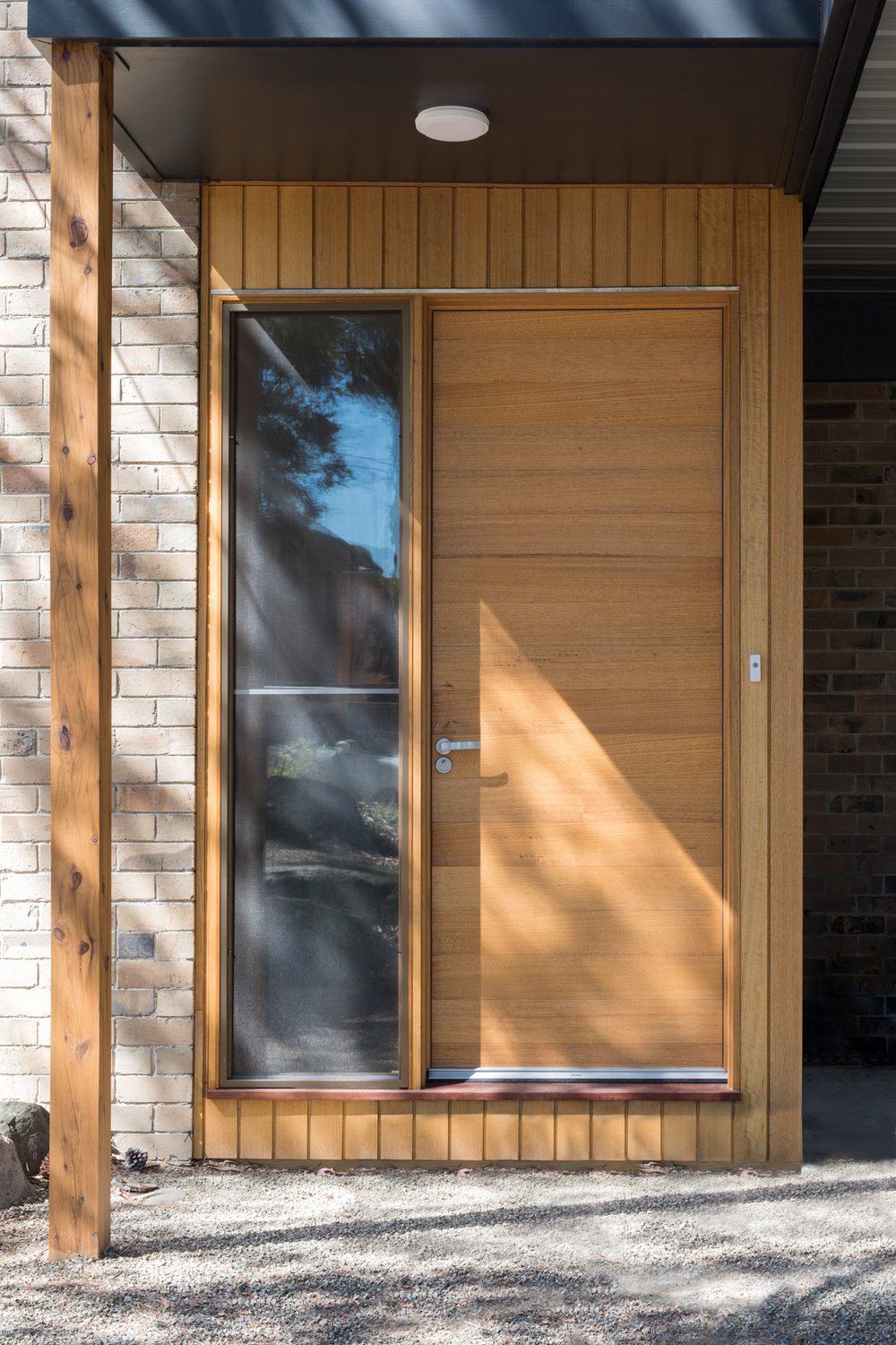 Timber Extension with Victorian Ash Shiplap Feature Cladding.  Photography by Charlie Kinross