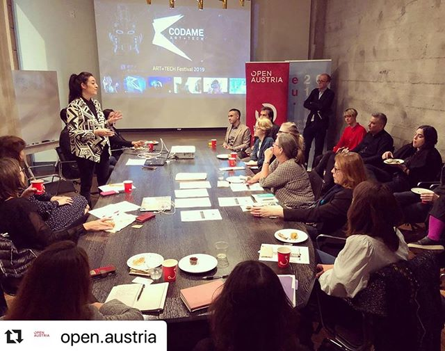 1st Art & Tech breakfast @open.austria: diplomats engage with the local art scene to create the future 🔮@grayareaorg @muteksanfrancisco @codame @zeroumoficial  #art #technology #future #austria #europe #siliconvalley #sanfrancisco #california #newlife #newhome #ilovemyjob
