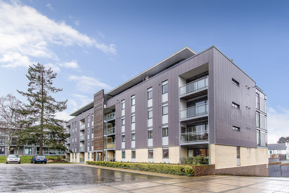 Modern flat development, St Albans