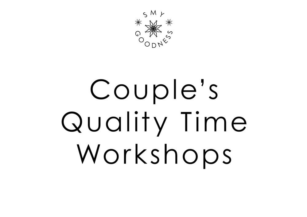 Couple's Workshops