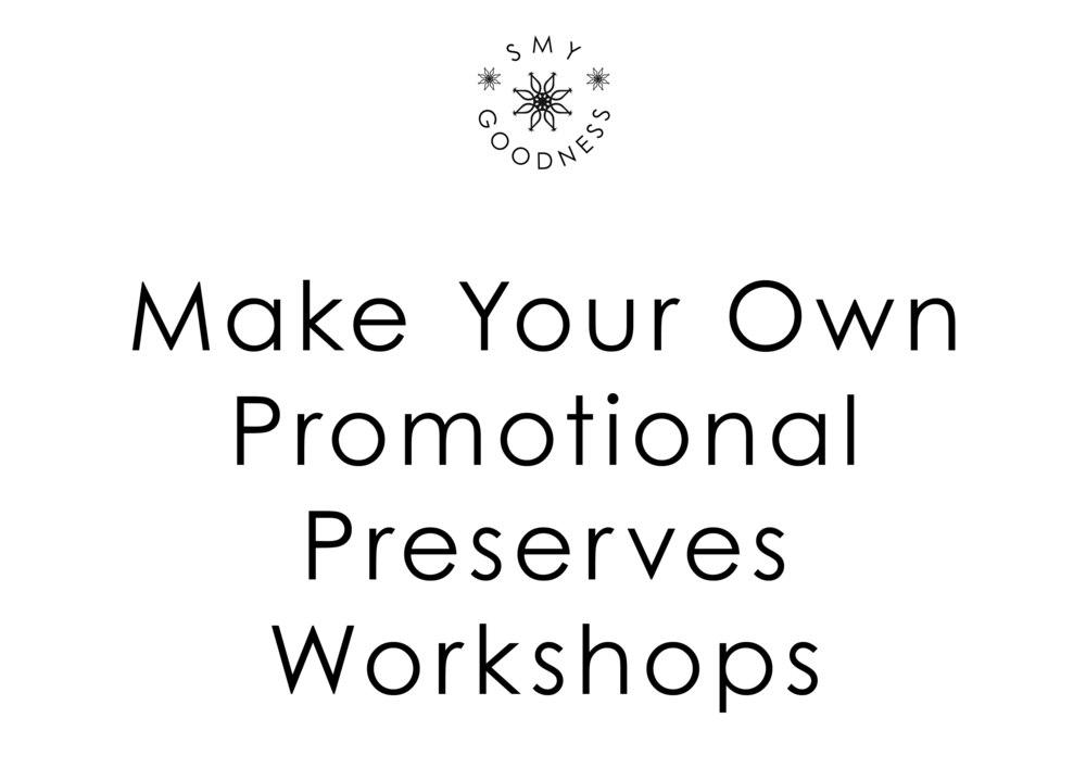 Promotional Preserves