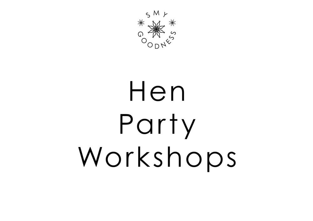 Hen Party Workshops