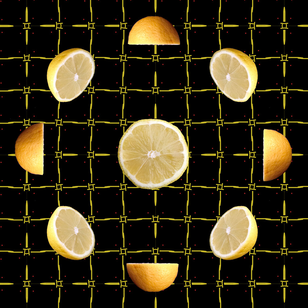 Lemon Slice pattern ©Smy Goodness