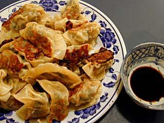 Guotie dumpling with seared bottoms