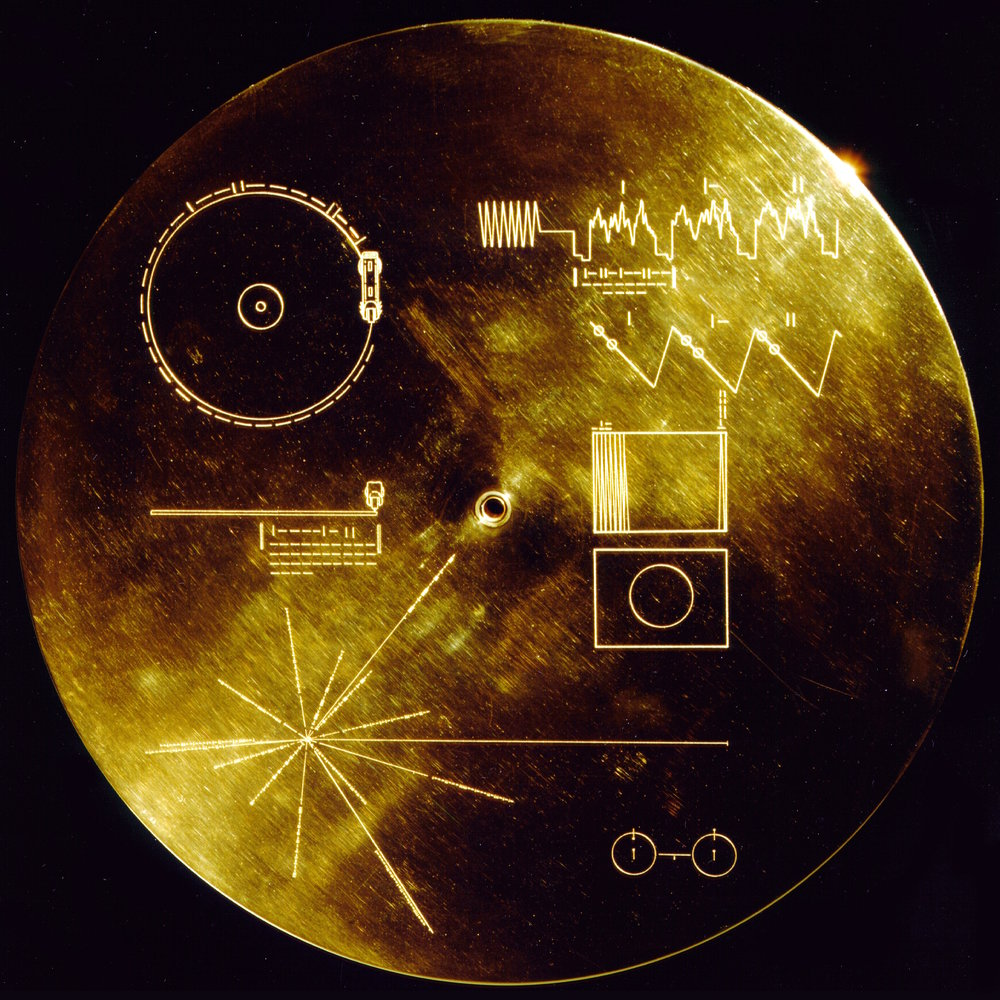 NASA Voyager Golden Record  cover