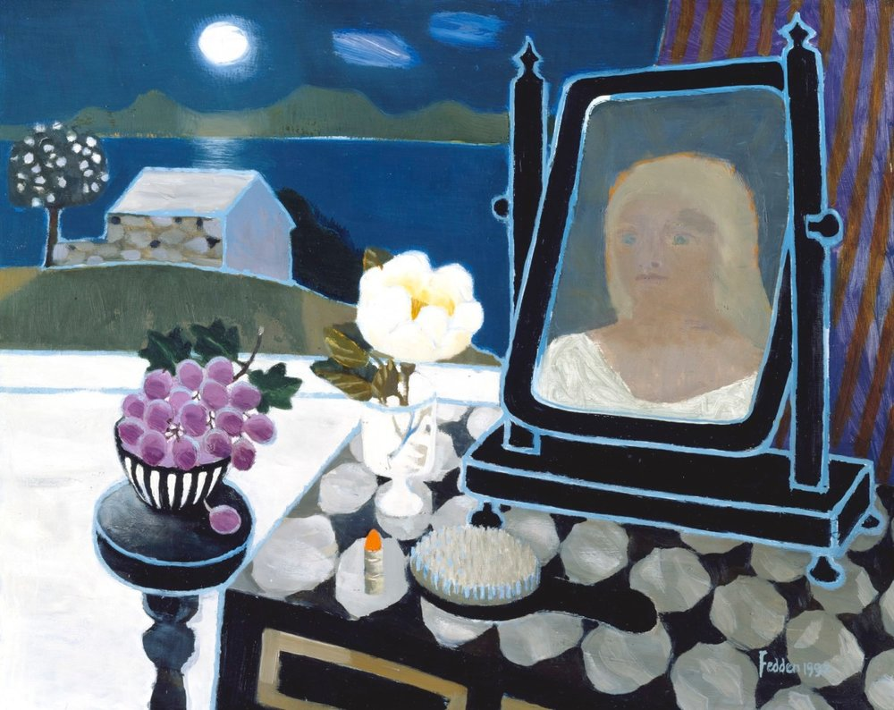 Mary Fedden, Reflection, 1992, oil on board