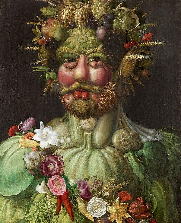 Vertumnus, Guiseppe Arcimboldo,1590–1591