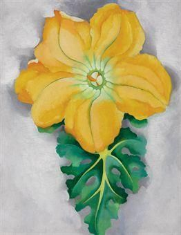 Squash Blossoms II, Georgia O'Keeffe, 1925