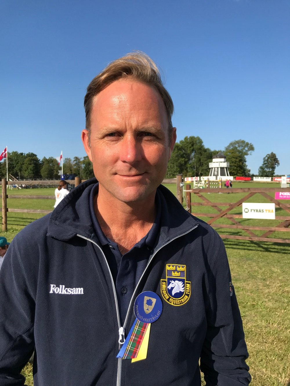 Förbundskapten Fredrik Bergendorff